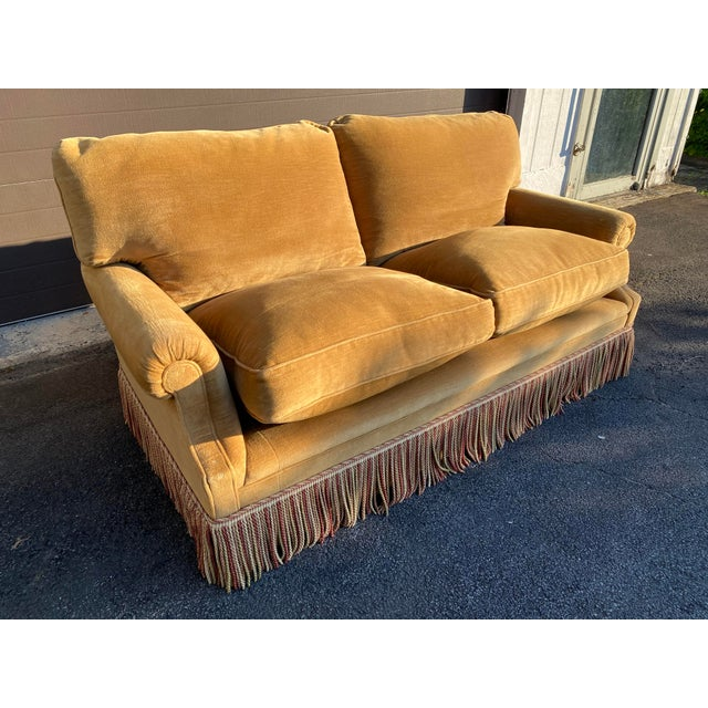 George Smith Laidback Arm Sofa For Sale In New York - Image 6 of 8