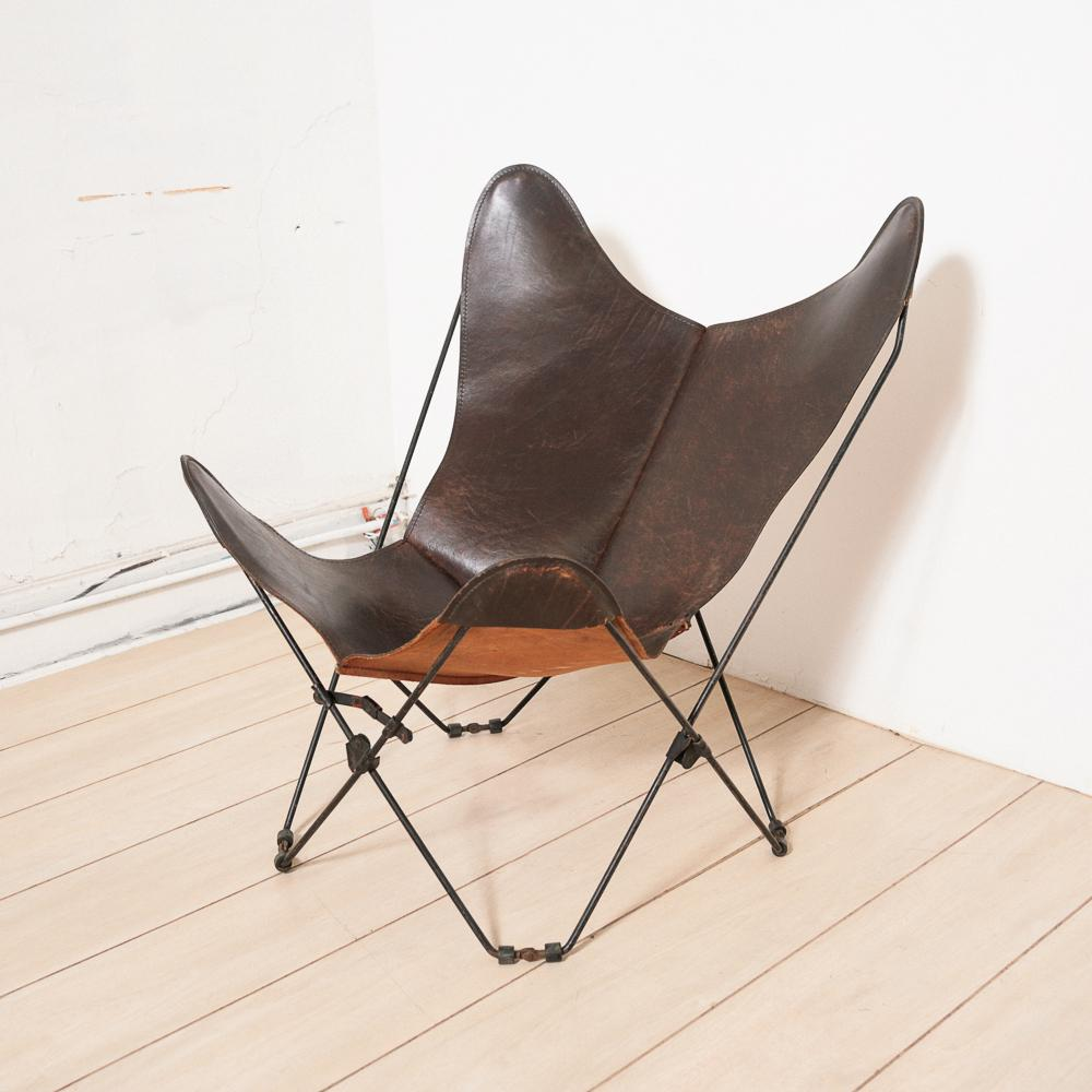 Circa 1950 Mid Century Butterfly Chair   Image 2 Of 11