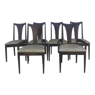 Set of 6 Mid Century Modern Dining Chairs For Sale