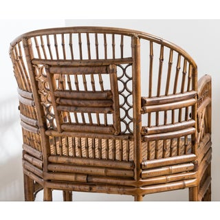 Brighton Bamboo Barrel Chair by Thomasville Old Label Preview