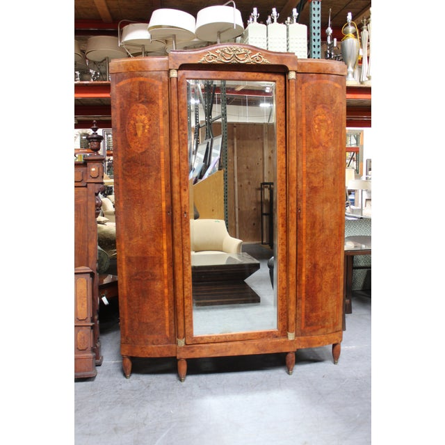 Wood French Late Century Armoire For Sale - Image 7 of 7