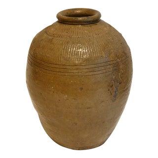 Large Statement Glazed Pottery Vessel For Sale