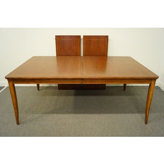 20th Century Mission Thomasville Furniture Cinnamon Hill Collection Dining Table Preview