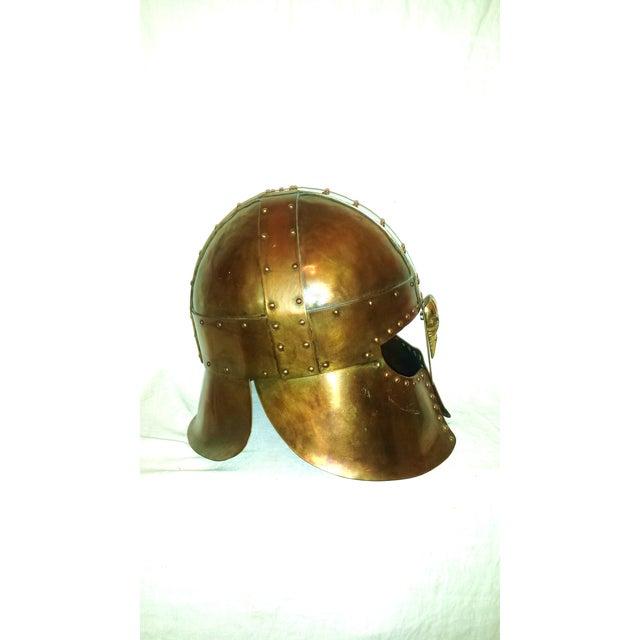 Medieval Brass & Copper Helmet - Image 3 of 7