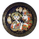 Image of Bjorn Wiinblad Decorative Hanging Plate For Sale