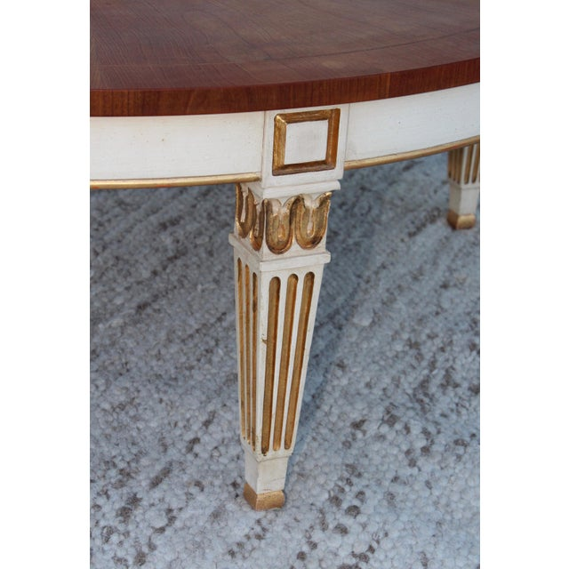 Mid 20th Century 1950s Giltwood Coffee Table by Baker For Sale - Image 5 of 11