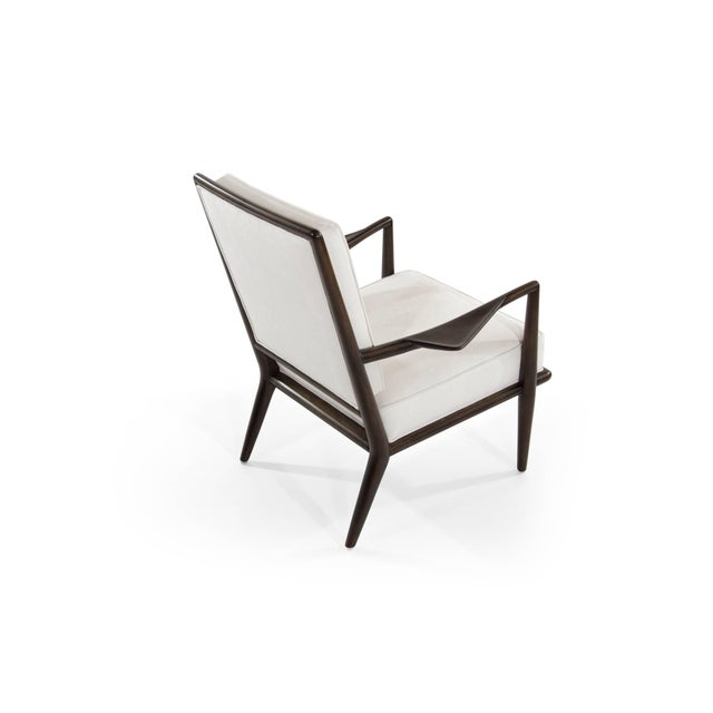 T.H Robsjohn-Gibbings Wing Arm Lounge Chairs - a Pair For Sale In New York - Image 6 of 11