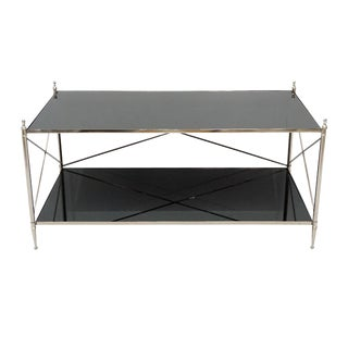Contemporary Wade Rectangular Accent Coffee Table For Sale