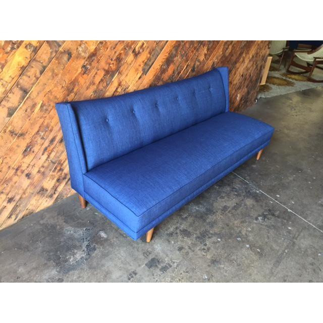 Mid-Century Style Custom Sofa - Image 4 of 9