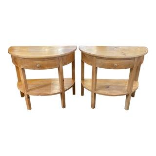 Eclexion Furniture Biedermeier Nightstands - a Pair For Sale