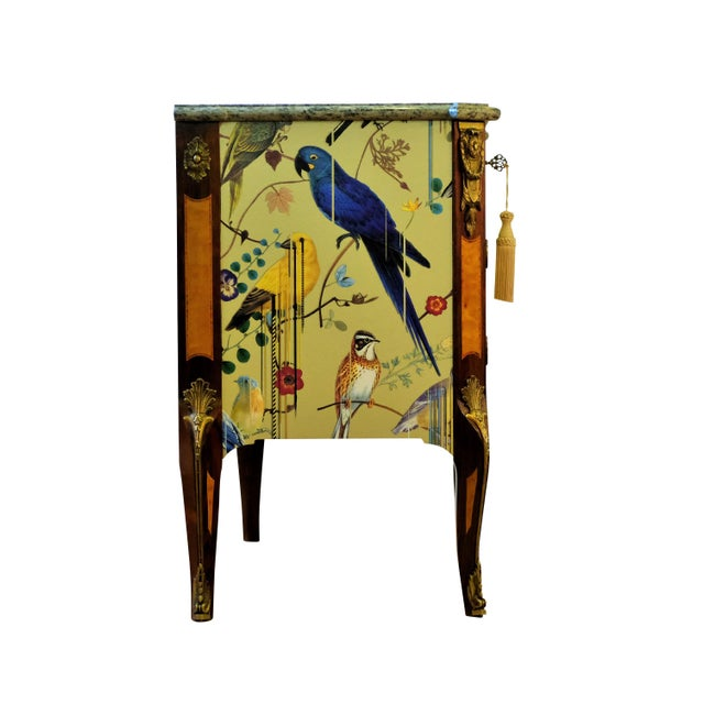 Metal Christian Lacroix Style Commodes - a Pair For Sale - Image 7 of 9