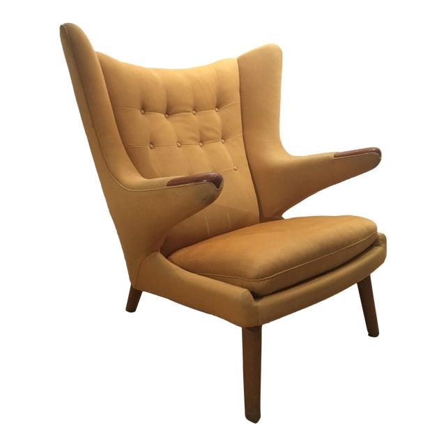 Hans Wegner Papa Bear Chair - Image 1 of 9