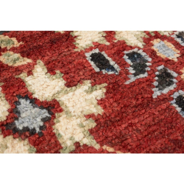 Schumacher Schumacher Meetra Area Rug in Hand-Knotted Wool Silk, Patterson Flynn Martin For Sale - Image 4 of 7
