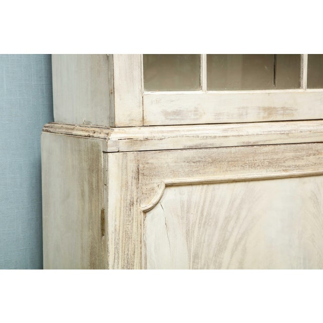 19th Century Painted English Cabinet For Sale - Image 12 of 13