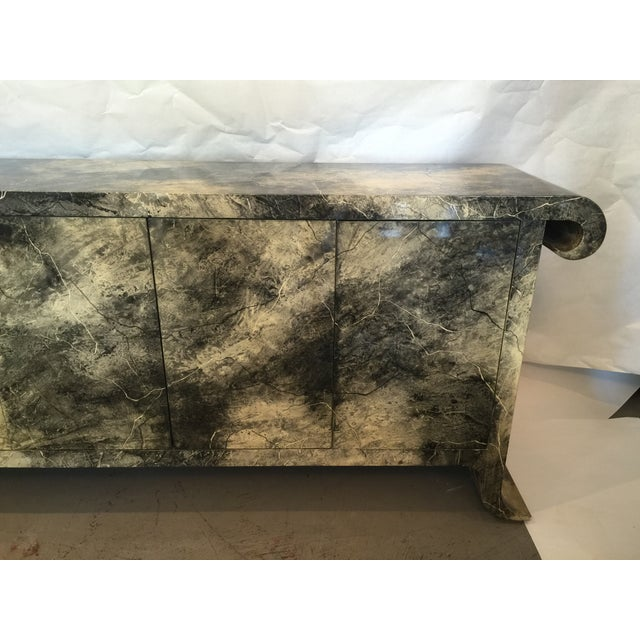 1970's Lacquered Baker Credenza - Image 3 of 11