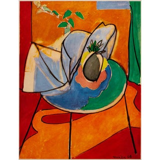 """Rare 1948 Matisse """"The Pineapple"""" First Edition Period French Lithograph for Verve For Sale"""