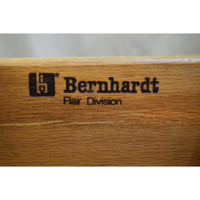 Bernhardt Flair Division Asian Inspired Console Server Cabinet For Sale - Image 12 of 13