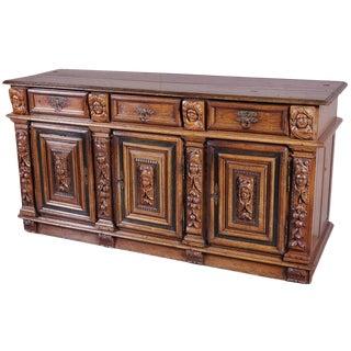 Rare Period Louis XIII Buffet, Circa 1630 For Sale
