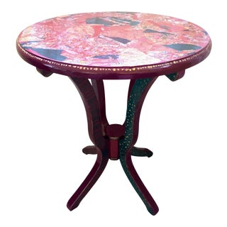 Fancy Pants Decoupage Table For Sale
