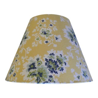 Custom Lampshades in Tilton Fenwick Fabric - a Pair