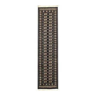Pasargad Hand Knotted Bokhara Runner- 2′7″ × 11′2″ For Sale
