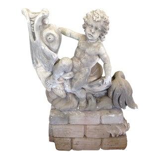 Garden Statue Fountain For Sale