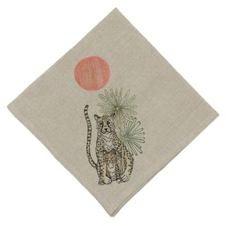 Jungle Cheetahs Dinner Napkin For Sale