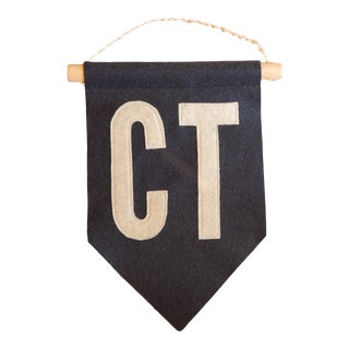 Ct Felt Flag Navy For Sale