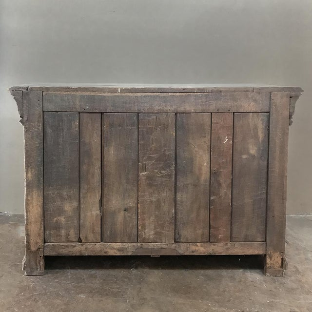 Early 18th Century Country French Whitewashed Buffet For Sale - Image 12 of 13