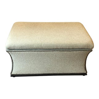 Kravet Furniture Newport Storage Bench For Sale