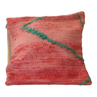 Moroccan Pink Vintage Pillow Cover For Sale
