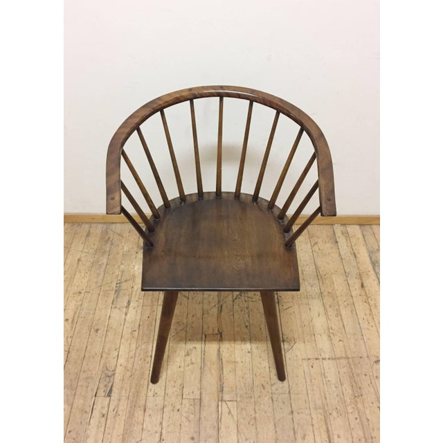 Russel Wright Set of Four Russel Wright Conant Ball Captains Dining or Side Chairs For Sale - Image 4 of 5