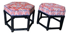 Image of Hollywood Regency Stools