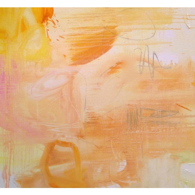 """Large Minimalist Abstract Painting by Trixie Pitts """"Monument Valley"""" - Image 4 of 4"""