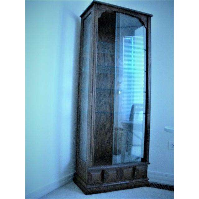 1980s Contemporary Utility Cabinet Linen Closet Liquor Cabinet | Chairish
