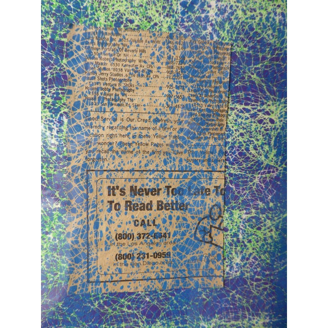 Contemporary Abstract Newspaper Print For Sale In Los Angeles - Image 6 of 11