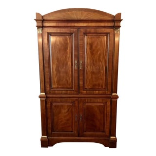 1990s Vintage Henredon Historic Natchez Collection Armoire