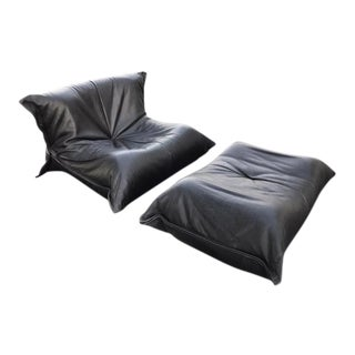 Michel Ducaroy for Ligne Roset Togo Chair and Ottoman
