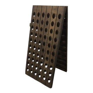 Vintage Champagne Riddling Rack For Sale
