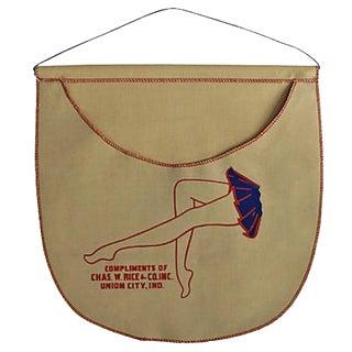 Vintage Clothespin Holder For Sale