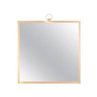 CF Modern Custom Solid Brass Square Mirror
