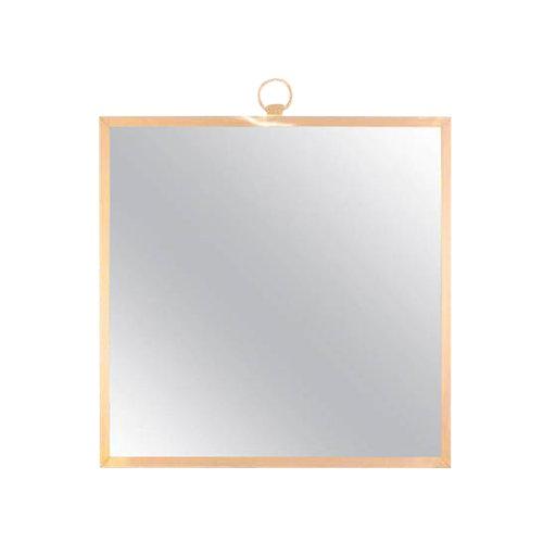 CF Modern Custom Solid Brass Square Mirror - Image 1 of 6
