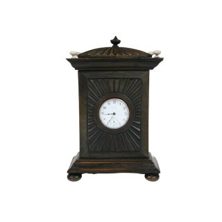 Anglo Indian Carved Bone Pagoda Form Watch Hutch For Sale