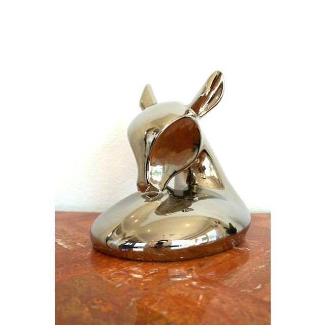 Vintage Jaru Silver Deer Statue - Image 2 of 8