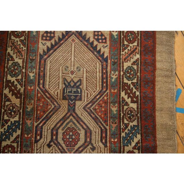 "Antique Serab Rug Runner - 3'6"" x 18'6"" - Image 6 of 10"