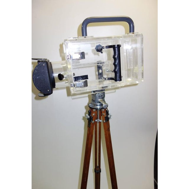 Movie Camera Underwater Housing Circa 1970 by Famous Jaws Cinematographer Jordan Klein. Sold For Sale In Dallas - Image 6 of 7