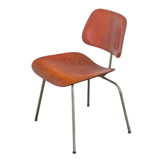 Eames for Evans Aniline Dcm Chair For Sale
