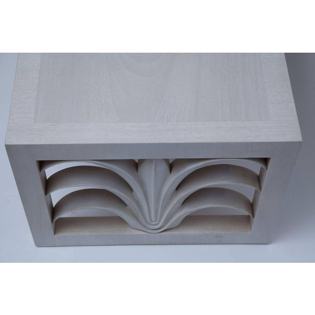 Bleached Mahogany Coffee Table by T. H. Robsjohn-Gibbings For Sale In Miami - Image 6 of 10