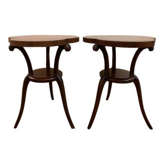Art Deco Grosfeld House Side Tables - a Pair For Sale