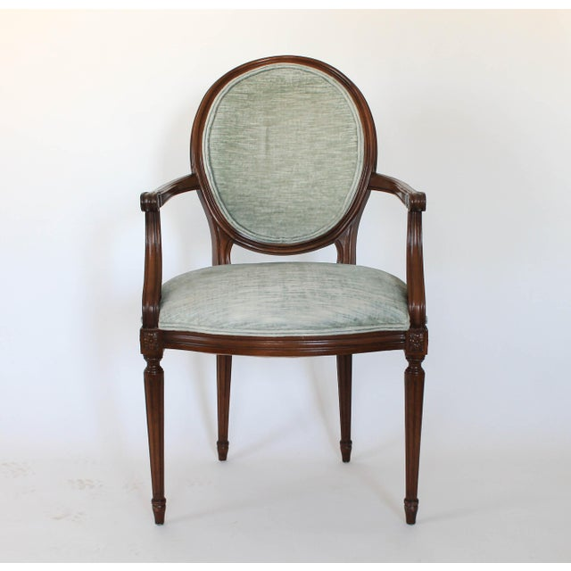 Oval-Back Fauteuil For Sale - Image 12 of 12